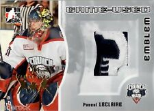 Pascal LeClaire 2005-06 In the Game Heroes Prospects Emblem Jersey Patch #1/1