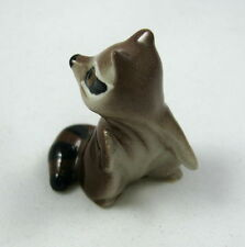 Hagen Renaker miniature made in America Racoon Mama second version retired