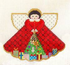 Under the Tree Angel & Charms HP Needlepoint Canvas & STITCH GUIDE Painted Pony