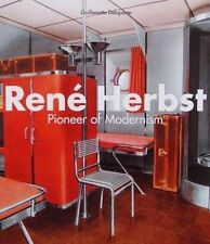 LIVRE NEUF RENÉ HERBST (art deco metal/steel furniture/meuble,interior