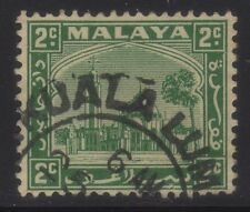 [JSC]1935 MALAYA MOSQUE OLD STAMPS COLLECTION~2c green