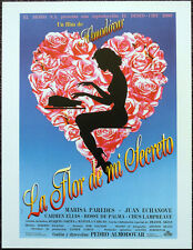 THE FLOWER OF MY SECRET 1995 SPANISH FILM MOVIE POSTER PAGE . MARISA PAREDES N25