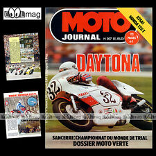 MOTO JOURNAL N°307 HONDA CB 125 T DRAGSTER RC 2001 RUSS COLLINS DAYTONA '77