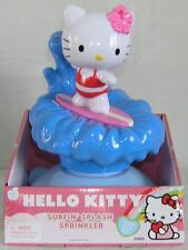 Hello Kitty Sprinkler Water Toy Surfin' Splash BIG FUN Spins & Sprays!  NIB