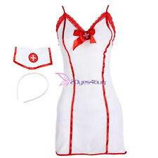Sexy Lingerie Dress Sleepwear Nurse Uniform Girl Costume Cosplay Outfit Uniform