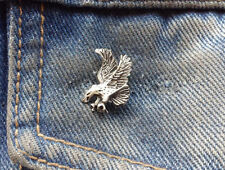 Flying Eagle Pewter Pin Badge