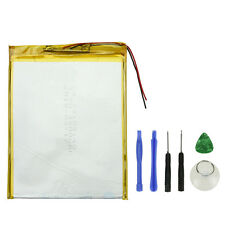 """New 5600mAh Li-ion Battery w/ Adhesive For 9"""" 10"""" inch Tablet PC GPS iPod Camera"""