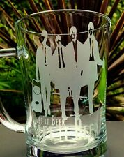 The Beatles - Let It Beer - Engraved Glass Tankard - New