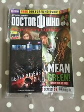 Dr Doctor Who Adventures Magazine Issue 218 - Brand New In Bag - Free Postage