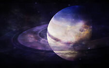 Framed Print - Planet Saturn (Picture Poster Art Space Universe Galaxy Earth)