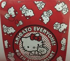 "Hello Kitty 40th Anniversary Arigato Everyone 78""x55"" Blanket [DL2]"