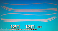 SUZUKI B120 B120M B120P DECAL SET