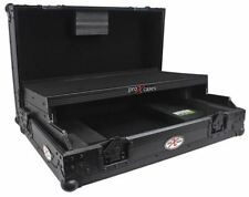 ProX XS-DDJSRLTBL All Black Hard Flight Case for Pioneer DDJ SR DJ Controller