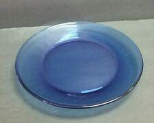 Cobalt blue salad plate