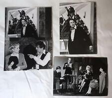 LE DERNIER METRO - DENEUVE - POIRET - BENNENT - LOT 3 PHOTOS CINEMA PRESSE