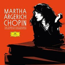 5CD MARTHA ARGERICH CHOPIN The Complete Recordings on Deutsche Grammophon