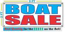 BOAT SALE Full Color Banner Sign NEW XXL Size Best Quality for the $$$$ CAR LOT