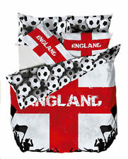 Catherine Lansfield Official England Football Bedding Single Quilt Set  22291