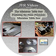 The Miniature Table Saw Featuring the PREAC Precision Miniature Table Saw (DVD)