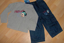 Disney Mickey Mouse Jeans + Sweatshirt Gr 86/92