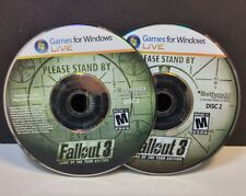 Fallout 3: Game of the Year Edition (PC, 2009) DISC ONLY