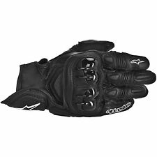 ALPINESTARS GPX Leather Motorcycle Gloves (Black) L (Large)