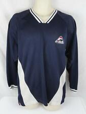 Vtg 90s FILA Mens Medium Mesh Baseball Basketball Hockey Jersey Shirt Tee L/S