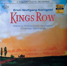 KINGS ROW - ERICH WOLFGANG KORNGOLD - LP SNDTRK - CHALFONT - DIGITAL LP - 1979