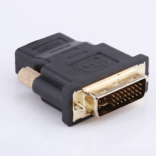 DVI-I Dual Link (24+5 pin) Male to HDMI Standard Female Adapter for HDTV LCD DVD