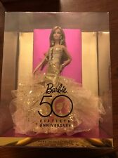 50Th Anniversary Glamour Collector Edition 2008 Barbie Doll