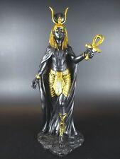 Hathor Ägypten Göttin Mythologie,31 cm Polyresin Figur,Museum Kollektion,NEU