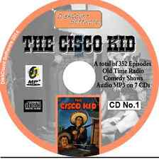The Cisco Kid - Massive Collection of 352 Old Time Radio Shows -   MP3 - 7 CDs