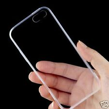 Ultra Thin Silicone Back Clear Cover Case For *APPLE iPHONE 6 / 6S*- TRANSPARENT