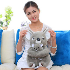 28cm Sitting Koala Teddy Bear Plush Stuffed Animal Baby Toys Doll Soft Gray Cute