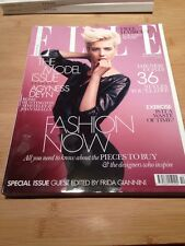 UK Elle Magazine October 2011 Agyness Deyn Rosie Huntington-Whiteley, 36 Coats