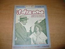 RIVISTA IL DRAMMA N.99 OTTOBRE 1930 RUGGERO LUPI PAOLA BORBONI APEL RIDENTI