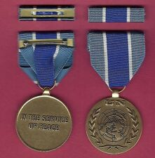 One UN United Nations Award medal for Kosovo with ribbon bar UNMIK Mission