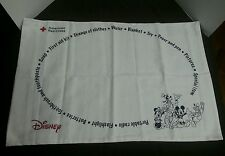 Disney American Red Cross Pillow Case RARE Blank Characters Hurricane Relief