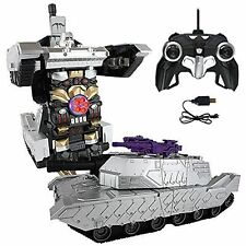 MZ Transformers 2327PF Shockwave 8+ Toy RC Robot Tank Bumblebee Optimus Prime