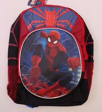 Marvel Comics The Amazing Spider-Man Kids Boys 3D PICTURE Backpack Schoolbag Bag
