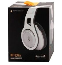 NEW Scosche RH1056m  Realm White Reference Headphones