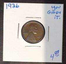 1926 1C Lincoln Cent