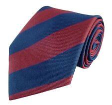 Brigade Of Guards Regimental Regiment Striped Polyester Tie New