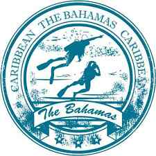 "The Bahamas Caribbean Diving Travel Car Bumper Sticker Decal 5"" x 5"""