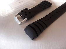 SEIKO Originale Cinturino in Gomma 20mm per 7n36-0af0 5m62-0bl0 7t92-0jg0 4r15-00d0