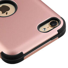 for iPod Touch 5th / 6th Gen - ROSE GOLD / BLACK Hybrid Impact Armor Case Cover