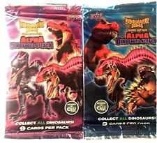 Dinosaur King Trading Card Game Booster Pack - 2 pack 18 cards