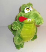 "Vintage 1980's Disney Company ~ Peter Pan ~ TIC-TOCK-CROC ~ 12"" Plush Toy (FA1)"