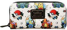 Pokemon Wallet Loungefly Pokemon Go Pikachu Squirtle Pokemon Go FALL 2016 NEW!