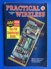 PRACTICAL WIRELESS - December 1960 - Mains Operated Model Control Transmitter